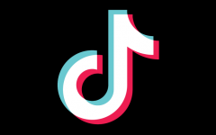 The logo of TikTok, the most recent social media app to become wildly popular with teens today