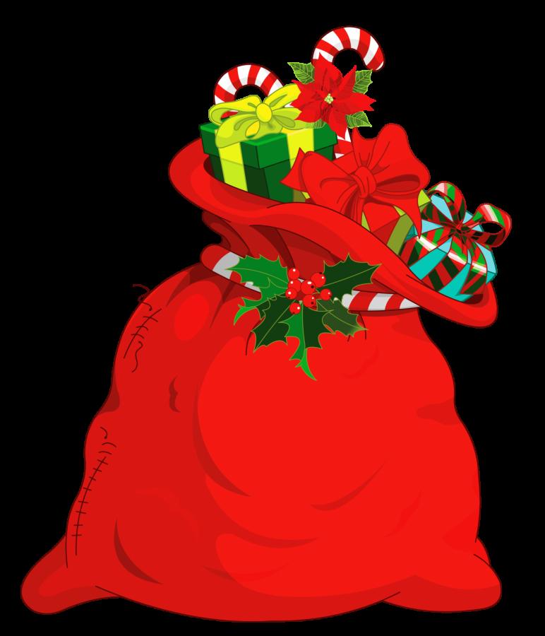 Decorative Santa sack