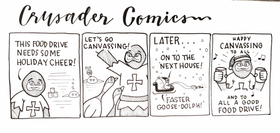 Crusader Comics: Christmas Crusader