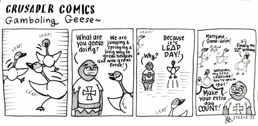 Crusader Comics: Gamboling Geese