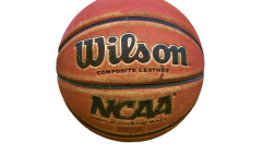 NCAA  mens Basketball. Wilson mens official Basketball of the NCAA.