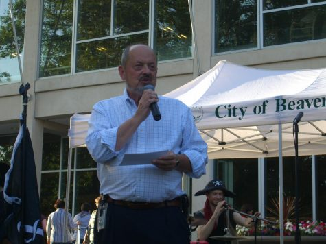 Beaverton Mayor Dennis Doyle has served since 2009. He is currently running for his fourth term in office.