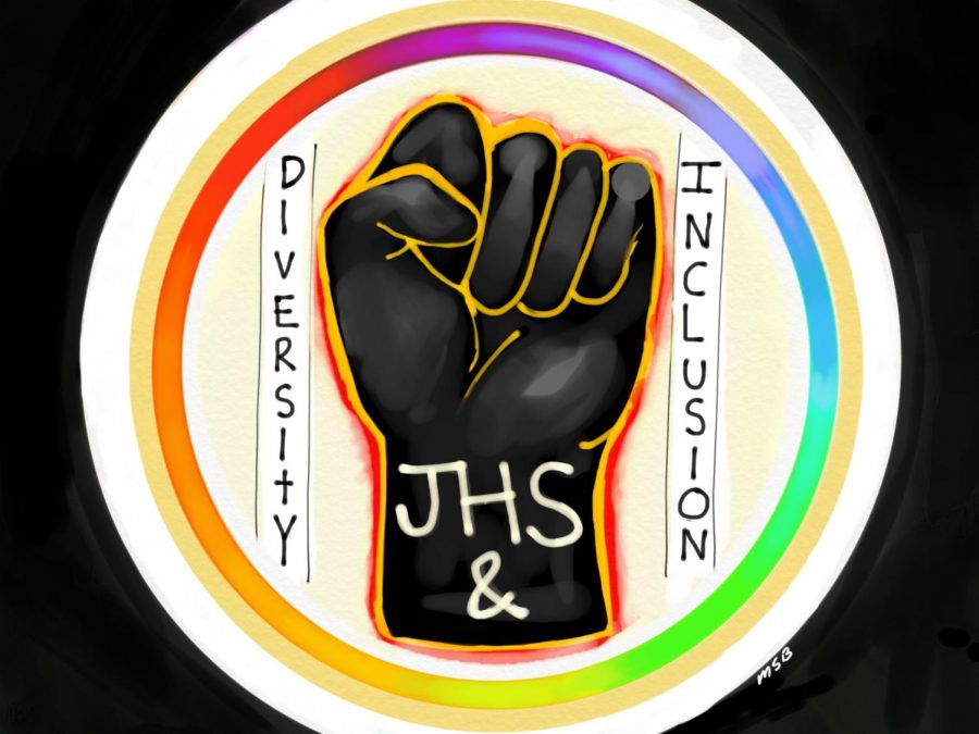 2020 Jesuit Diversity, Equity, and Inclusion Logo
