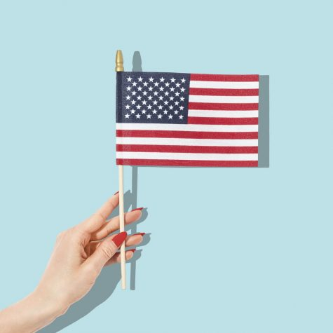 The American flag, a traditional symbol of unity has shifted to one of controversy.