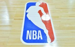 NBA Logo on Court