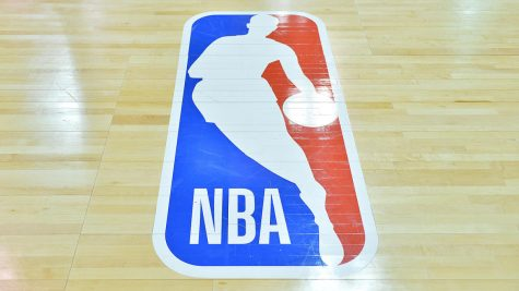NBA Logo on Court