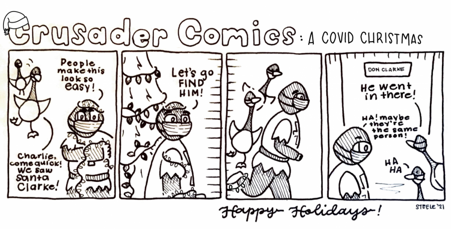 Crusader Comics: A Covid Christmas