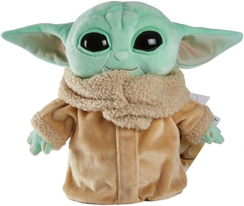 Baby Yoda Plush Toy on Amazon