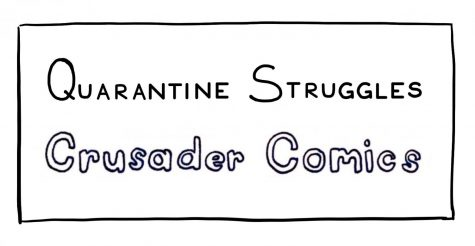 Crusader Comics & Quarantine Struggles: The Scrapbooking Edit
