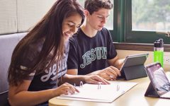 Jesuit High School's strength in the technology department has facilitated the efforts for learning amidst a pandemic.