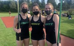 Three Track Athletes Competing, Photo Curtsey Gwynne Olson