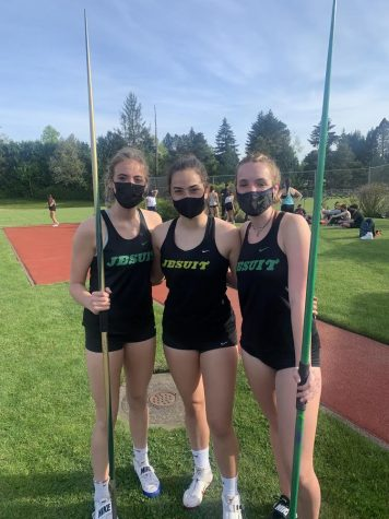 Three Track Athletes Competing, Photo Curtsey Gwynne Olson
