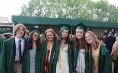 A Group of Seniors After Graduation. Photo Courtesy Gwynne Olson
