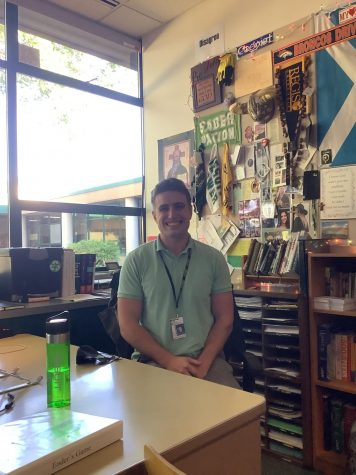 Mr. Shoultz joins the English Department as a student teacher for the 2021-22 school year.